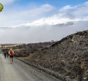 pim1909javi0176; Running in Patagonia for the eighth edition of the Patagonian International Marathon 2019 in Provincia de Última Esperanza, Patagonia Chile; International Marathon; Octava Edición Maratón de la Patagonia, Chile 2019;