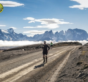 pim1909javi0209; Running in Patagonia for the eighth edition of the Patagonian International Marathon 2019 in Provincia de Última Esperanza, Patagonia Chile; International Marathon; Octava Edición Maratón de la Patagonia, Chile 2019;