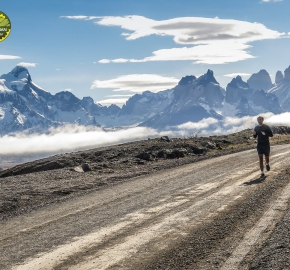pim1909javi0216; Running in Patagonia for the eighth edition of the Patagonian International Marathon 2019 in Provincia de Última Esperanza, Patagonia Chile; International Marathon; Octava Edición Maratón de la Patagonia, Chile 2019;
