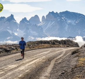 pim1909javi0231; Running in Patagonia for the eighth edition of the Patagonian International Marathon 2019 in Provincia de Última Esperanza, Patagonia Chile; International Marathon; Octava Edición Maratón de la Patagonia, Chile 2019;