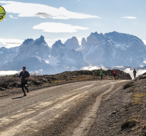 pim1909javi0242; Running in Patagonia for the eighth edition of the Patagonian International Marathon 2019 in Provincia de Última Esperanza, Patagonia Chile; International Marathon; Octava Edición Maratón de la Patagonia, Chile 2019;