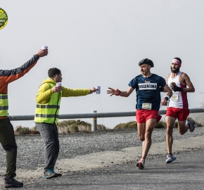 pim1909lues6586e; Running in Patagonia for the eighth edition of the Patagonian International Marathon 2019 in Provincia de Última Esperanza, Patagonia Chile; International Marathon; Octava Edición Maratón de la Patagonia, Chile 2019;