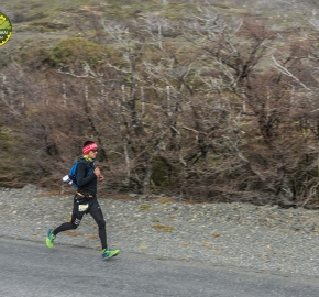 pim1909lues6671e; Running in Patagonia for the eighth edition of the Patagonian International Marathon 2019 in Provincia de Última Esperanza, Patagonia Chile; International Marathon; Octava Edición Maratón de la Patagonia, Chile 2019;