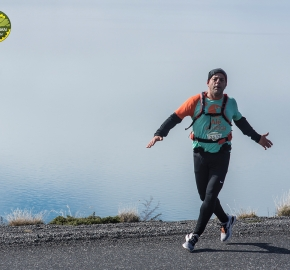 pim1909lues7142e; Running in Patagonia for the eighth edition of the Patagonian International Marathon 2019 in Provincia de Última Esperanza, Patagonia Chile; International Marathon; Octava Edición Maratón de la Patagonia, Chile 2019;