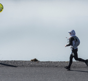 pim1909lues7158e; Running in Patagonia for the eighth edition of the Patagonian International Marathon 2019 in Provincia de Última Esperanza, Patagonia Chile; International Marathon; Octava Edición Maratón de la Patagonia, Chile 2019;