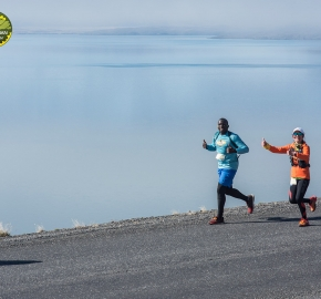 pim1909lues7209e; Running in Patagonia for the eighth edition of the Patagonian International Marathon 2019 in Provincia de Última Esperanza, Patagonia Chile; International Marathon; Octava Edición Maratón de la Patagonia, Chile 2019;
