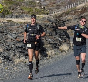 pim1909lues7708e; Running in Patagonia for the eighth edition of the Patagonian International Marathon 2019 in Provincia de Última Esperanza, Patagonia Chile; International Marathon; Octava Edición Maratón de la Patagonia, Chile 2019;