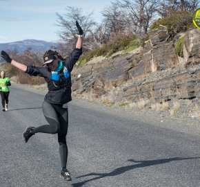 pim1909lues7827e; Running in Patagonia for the eighth edition of the Patagonian International Marathon 2019 in Provincia de Última Esperanza, Patagonia Chile; International Marathon; Octava Edición Maratón de la Patagonia, Chile 2019;