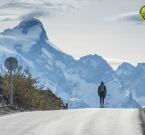 pim1909lues7838e; Running in Patagonia for the eighth edition of the Patagonian International Marathon 2019 in Provincia de Última Esperanza, Patagonia Chile; International Marathon; Octava Edición Maratón de la Patagonia, Chile 2019;