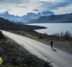 pim1909lues7869e; Running in Patagonia for the eighth edition of the Patagonian International Marathon 2019 in Provincia de Última Esperanza, Patagonia Chile; International Marathon; Octava Edición Maratón de la Patagonia, Chile 2019;