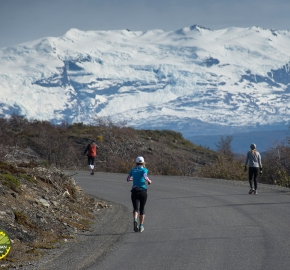 pim1909lues7938e; Running in Patagonia for the eighth edition of the Patagonian International Marathon 2019 in Provincia de Última Esperanza, Patagonia Chile; International Marathon; Octava Edición Maratón de la Patagonia, Chile 2019;