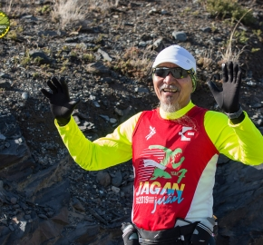 pim1909lues8056e; Running in Patagonia for the eighth edition of the Patagonian International Marathon 2019 in Provincia de Última Esperanza, Patagonia Chile; International Marathon; Octava Edición Maratón de la Patagonia, Chile 2019;