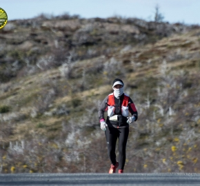pim1909lues8075e; Running in Patagonia for the eighth edition of the Patagonian International Marathon 2019 in Provincia de Última Esperanza, Patagonia Chile; International Marathon; Octava Edición Maratón de la Patagonia, Chile 2019;