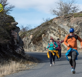 pim1909lues8120e; Running in Patagonia for the eighth edition of the Patagonian International Marathon 2019 in Provincia de Última Esperanza, Patagonia Chile; International Marathon; Octava Edición Maratón de la Patagonia, Chile 2019;