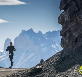 pim1909paai5931; Running in Patagonia for the eighth edition of the Patagonian International Marathon 2019 in Provincia de Última Esperanza, Patagonia Chile; International Marathon; Octava Edición Maratón de la Patagonia, Chile 2019;