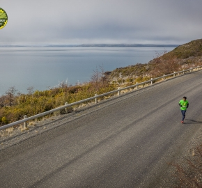 pim1909paav0050; Running in Patagonia for the eighth edition of the Patagonian International Marathon 2019 in Provincia de Última Esperanza, Patagonia Chile; International Marathon; Octava Edición Maratón de la Patagonia, Chile 2019;