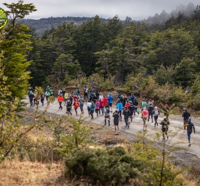 pim1909paav2694; Running in Patagonia for the eighth edition of the Patagonian International Marathon 2019 in Provincia de Última Esperanza, Patagonia Chile; International Marathon; Octava Edición Maratón de la Patagonia, Chile 2019;