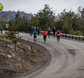pim1909paav2699; Running in Patagonia for the eighth edition of the Patagonian International Marathon 2019 in Provincia de Última Esperanza, Patagonia Chile; International Marathon; Octava Edición Maratón de la Patagonia, Chile 2019;