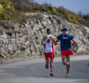 pim1909paav2734; Running in Patagonia for the eighth edition of the Patagonian International Marathon 2019 in Provincia de Última Esperanza, Patagonia Chile; International Marathon; Octava Edición Maratón de la Patagonia, Chile 2019;