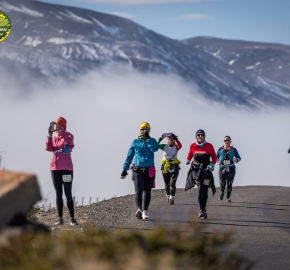 pim1909paav2802; Running in Patagonia for the eighth edition of the Patagonian International Marathon 2019 in Provincia de Última Esperanza, Patagonia Chile; International Marathon; Octava Edición Maratón de la Patagonia, Chile 2019;