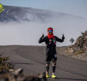 pim1909paav2805; Running in Patagonia for the eighth edition of the Patagonian International Marathon 2019 in Provincia de Última Esperanza, Patagonia Chile; International Marathon; Octava Edición Maratón de la Patagonia, Chile 2019;
