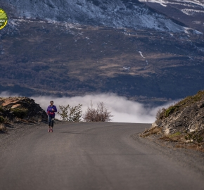 pim1909paav2808; Running in Patagonia for the eighth edition of the Patagonian International Marathon 2019 in Provincia de Última Esperanza, Patagonia Chile; International Marathon; Octava Edición Maratón de la Patagonia, Chile 2019;