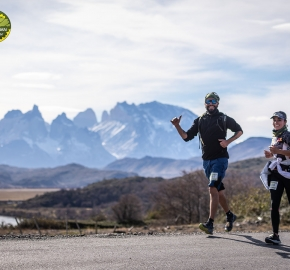 pim1909paav2850; Running in Patagonia for the eighth edition of the Patagonian International Marathon 2019 in Provincia de Última Esperanza, Patagonia Chile; International Marathon; Octava Edición Maratón de la Patagonia, Chile 2019;