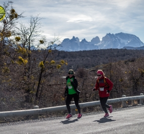 pim1909paav4830; Running in Patagonia for the eighth edition of the Patagonian International Marathon 2019 in Provincia de Última Esperanza, Patagonia Chile; International Marathon; Octava Edición Maratón de la Patagonia, Chile 2019;