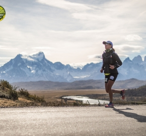 pim1909paav4853; Running in Patagonia for the eighth edition of the Patagonian International Marathon 2019 in Provincia de Última Esperanza, Patagonia Chile; International Marathon; Octava Edición Maratón de la Patagonia, Chile 2019;