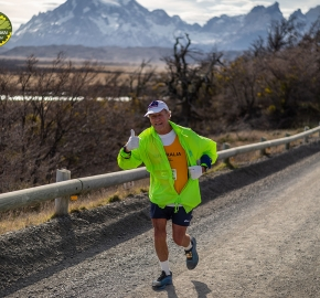 pim1909paav4877; Running in Patagonia for the eighth edition of the Patagonian International Marathon 2019 in Provincia de Última Esperanza, Patagonia Chile; International Marathon; Octava Edición Maratón de la Patagonia, Chile 2019;