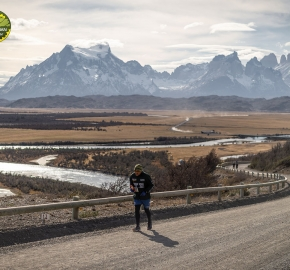 pim1909paav4880; Running in Patagonia for the eighth edition of the Patagonian International Marathon 2019 in Provincia de Última Esperanza, Patagonia Chile; International Marathon; Octava Edición Maratón de la Patagonia, Chile 2019;