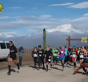 pim1909rome1177; Running in Patagonia for the eighth edition of the Patagonian International Marathon 2019 in Provincia de Última Esperanza, Patagonia Chile; International Marathon; Octava Edición Maratón de la Patagonia, Chile 2019;