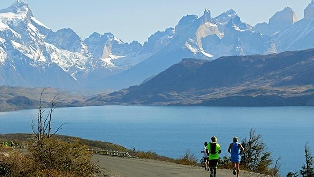 Road Running, Patagonian International Marathon 2016, Patagonia, Chile