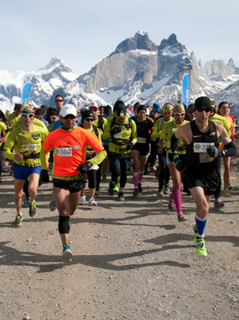 Patagonian International Marathon 2013 Patagonia, Chile